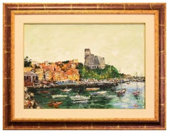View Lerici - Original Oil on Canvas by Luciano Sacco - 1970s