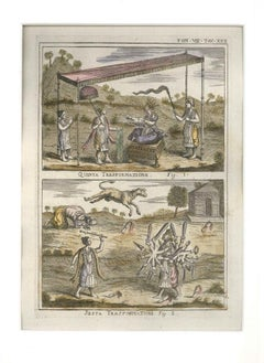 Transformations - Etching by G. Pivati - 1746-1751