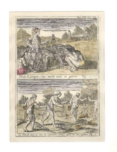 Rites of the Floridian Women - Etching by G. Pivati - 1746-1751