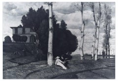 Fruhling - Original Woodcut After Arnold Bocklin - 1890s