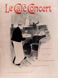 Le Café-Concert - Cover and Portfolio Book - 1893