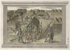 The Impalement of Enemy - Etching by G. Pivati - 1746/1751