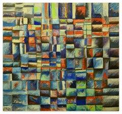 Reticulum  - Oil Painting 1999 by Giorgio Lo Fermo