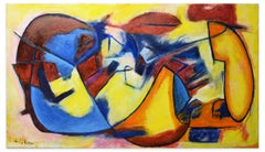 Post-Cubism  - Oil Painting 2016 by Giorgio Lo Fermo