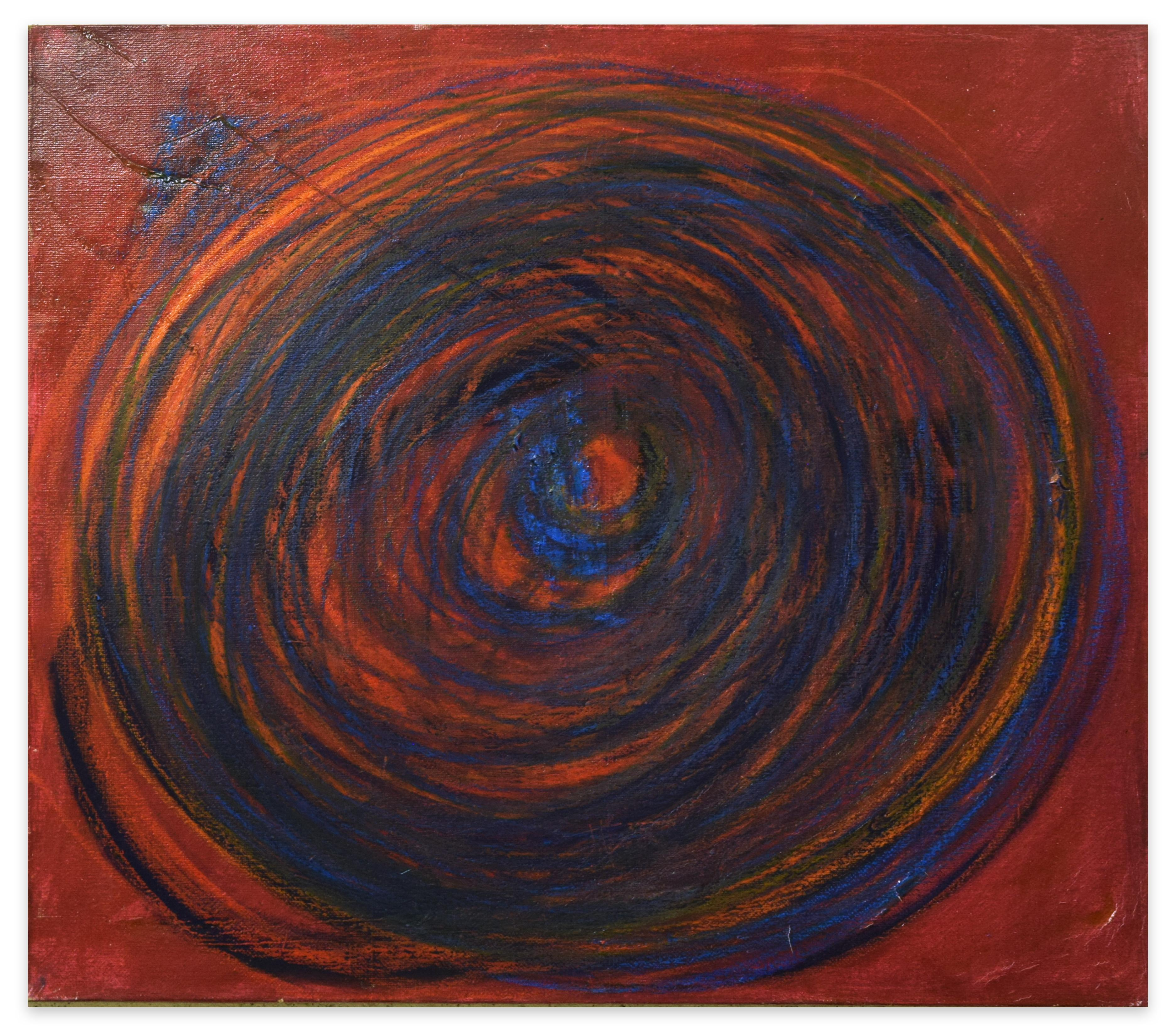 Eclipse - Oil Painting 2016 by Giorgio Lo Fermo