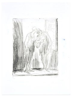 Sisal - Original Etching by by A. Ciarrocchi - 1970 ca.