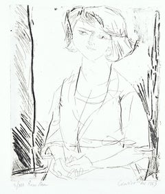 Rosa Rosa  - Original Etching by by A. Ciarrocchi - 1963