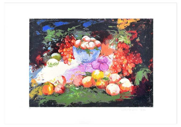 Still Life is an original print realized by the Italian artist Gianni Testa (1936) in 1986.  Original mixed colored serigraph.   Hand-signed by the artist on lower right. Numbered on lower left. Edition 121/150  Very good conditions.  This beautiful
