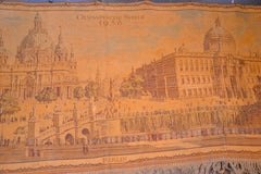 Vintage Tapestry - Munich Olympic Games 1936 by O. Baumgartel After A. Speer