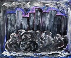 City Soul - Original Acrylic by A.M. Caboni - 2019