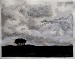 Clouds - Original Acrylic by A.M. Caboni - 2014