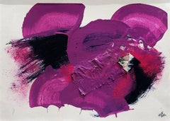 Pink - Original Acrylic by A.M. Caboni - 2014