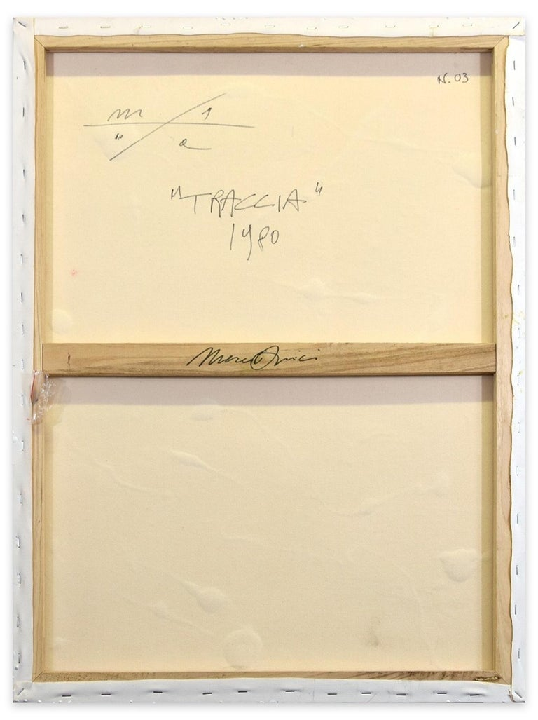 Trace - Mixed Media on Panel by Marco Amici - 1980 For Sale 1