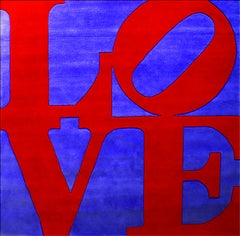 Chosen Love  - Offset Tapestry After Robert Indiana - 1995