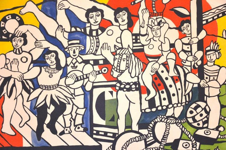 La Grande Parade - Original Lithograph by F. Léger - 1960s - Contemporary Print by Fernand Leger