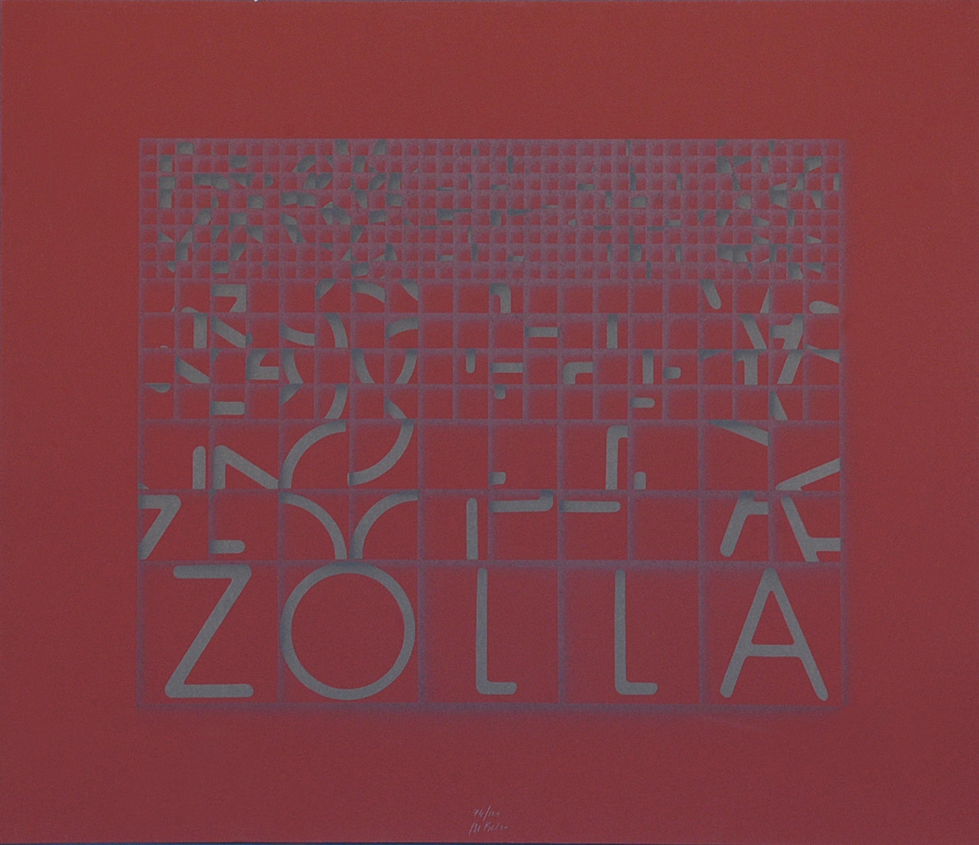 Zolla (Clod) - Original Screen Print by Bruno di Bello - 1980 ca.