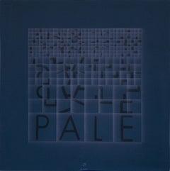 Pale (Blades) - Original Screen Print by Bruno di Bello - 1980 ca.