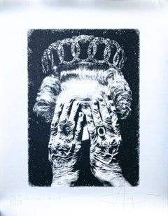 Cruel Britannia - Original Screen Print by K-Guy - 2011