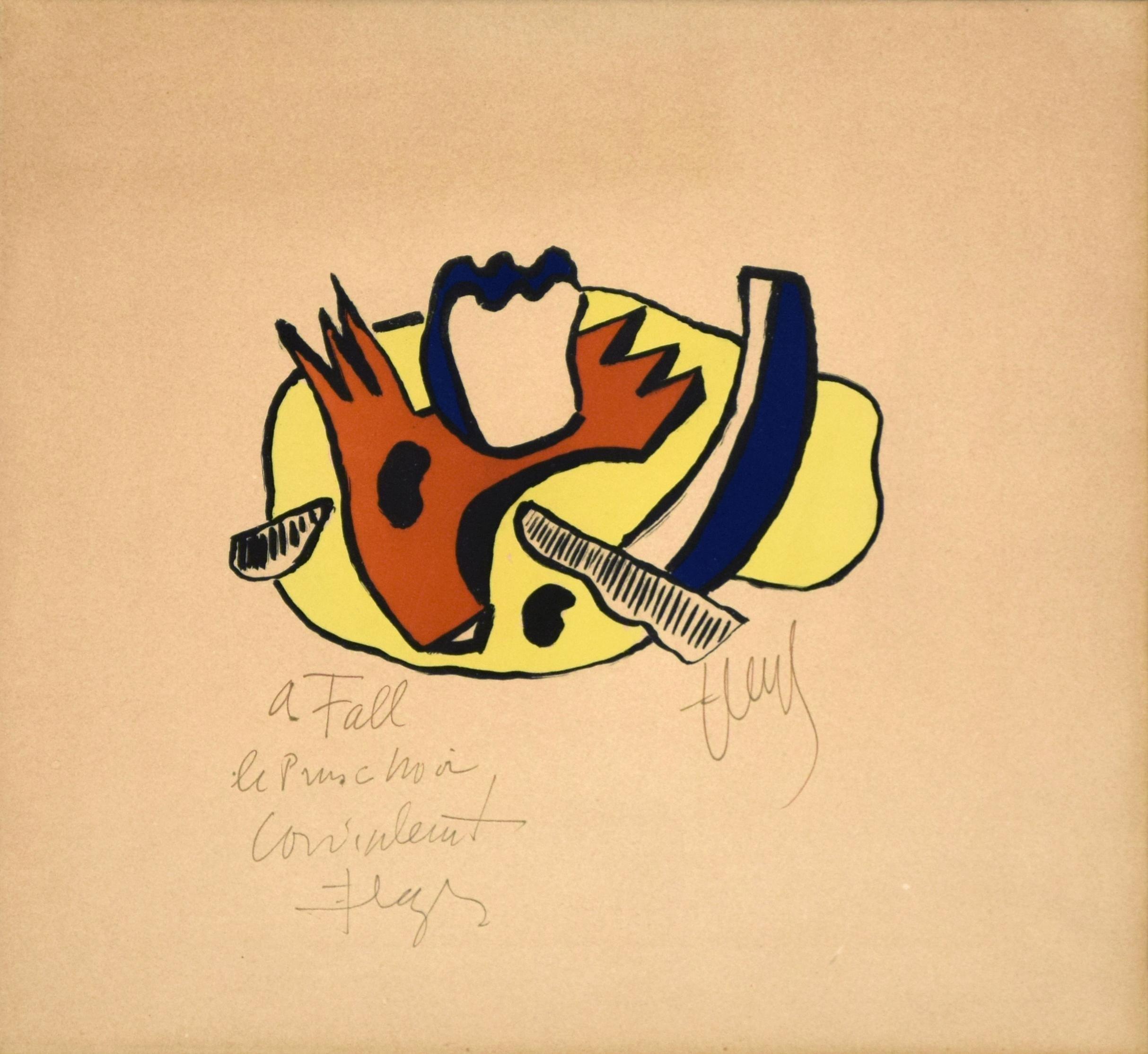 Still Life - Original Lithograph by F. Léger - 1951