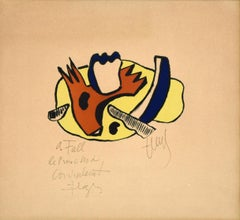 Still Life - Original Lithograph by F. Léger - 1951