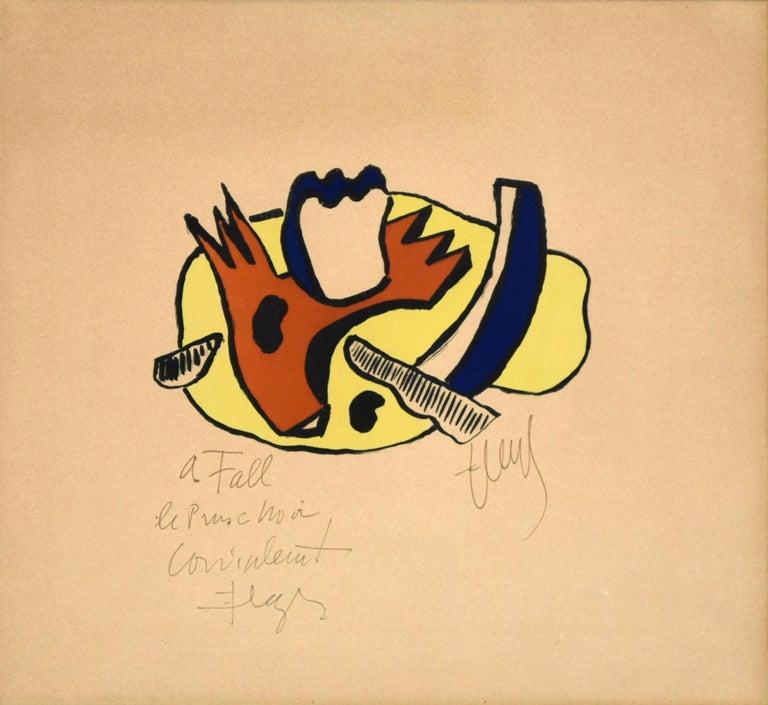 Fernand Léger Figurative Print - Still Life - Original Lithograph by F. Léger - 1951
