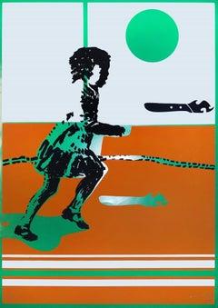 Child - Original Screen Print by Giancarlo Bugli - 1970s