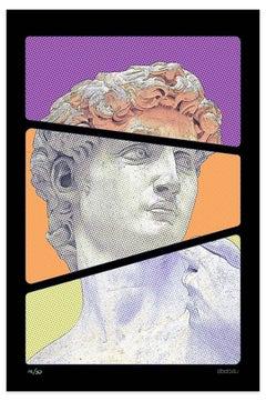 After Michelangelo - Original Giclée by Dadodu - 2008