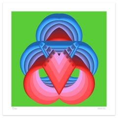 Symmetry - Original Giclée by Dadodu - 2019