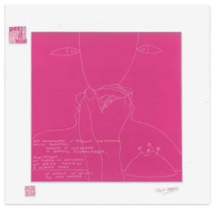 Argilla Compatta - Screen Print on Acetate by E. Pouchard