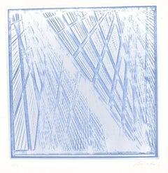 Untitled - Original Screen Print by G. Salvatori - 1970s