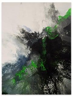 Birth of Love - Acrylic on Canvas by Elena Ksanti - 2019