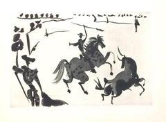 La Tauromaquia - Suite of Original Aquatints by Pablo Picasso - 1959