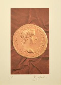 Aureus III - Original PhotoLithograph by Bettino Craxi - 1990s