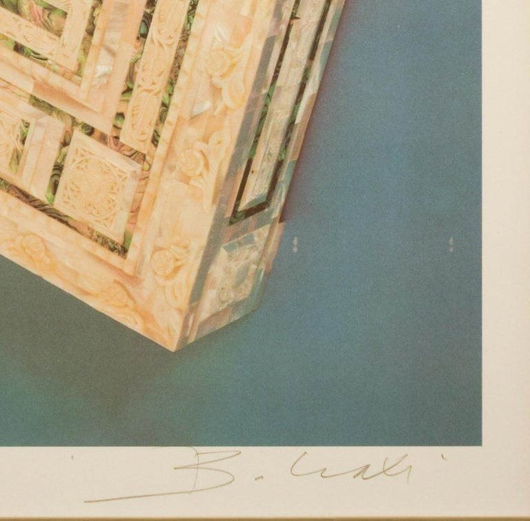 The Riffinato Casket - Original Screen Print by Bettino Craxi - 1989 For Sale 1