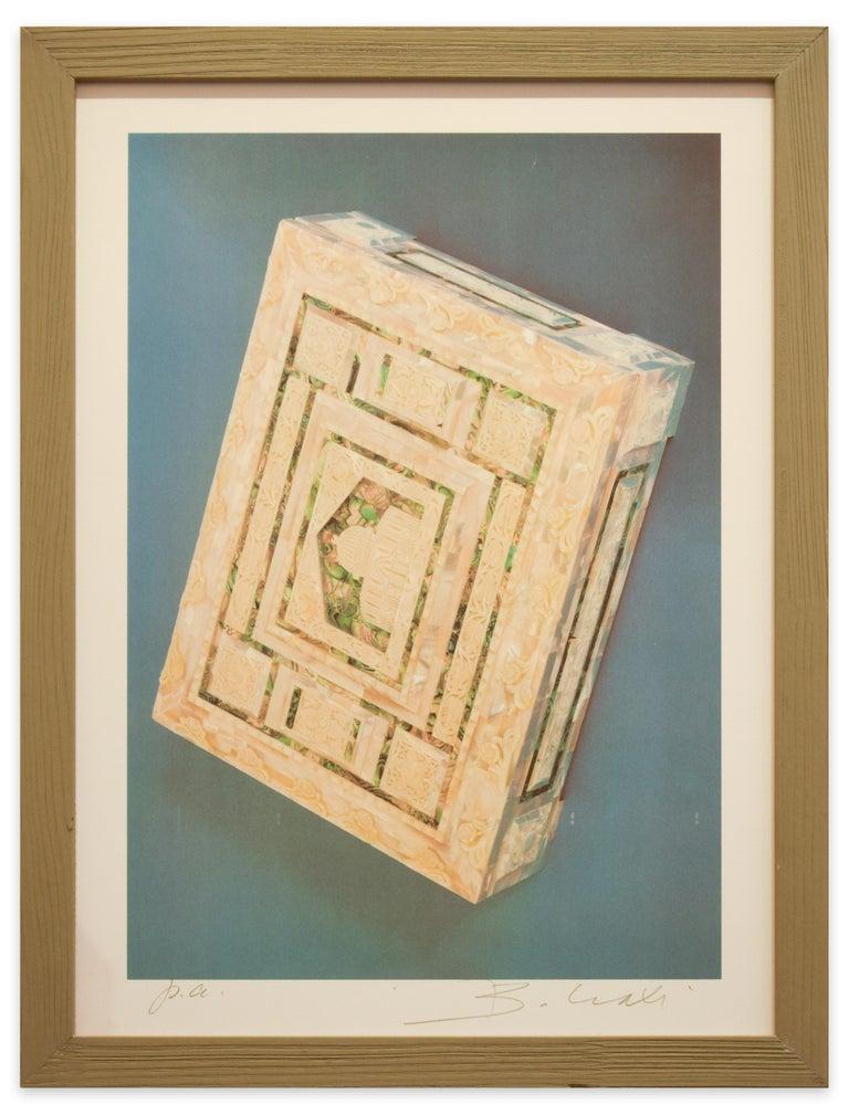 The Riffinato Casket - Original Screen Print by Bettino Craxi - 1989 For Sale 2