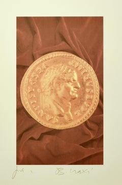 Aureus IV - Original PhotoLithograph by Bettino Craxi - 1990s