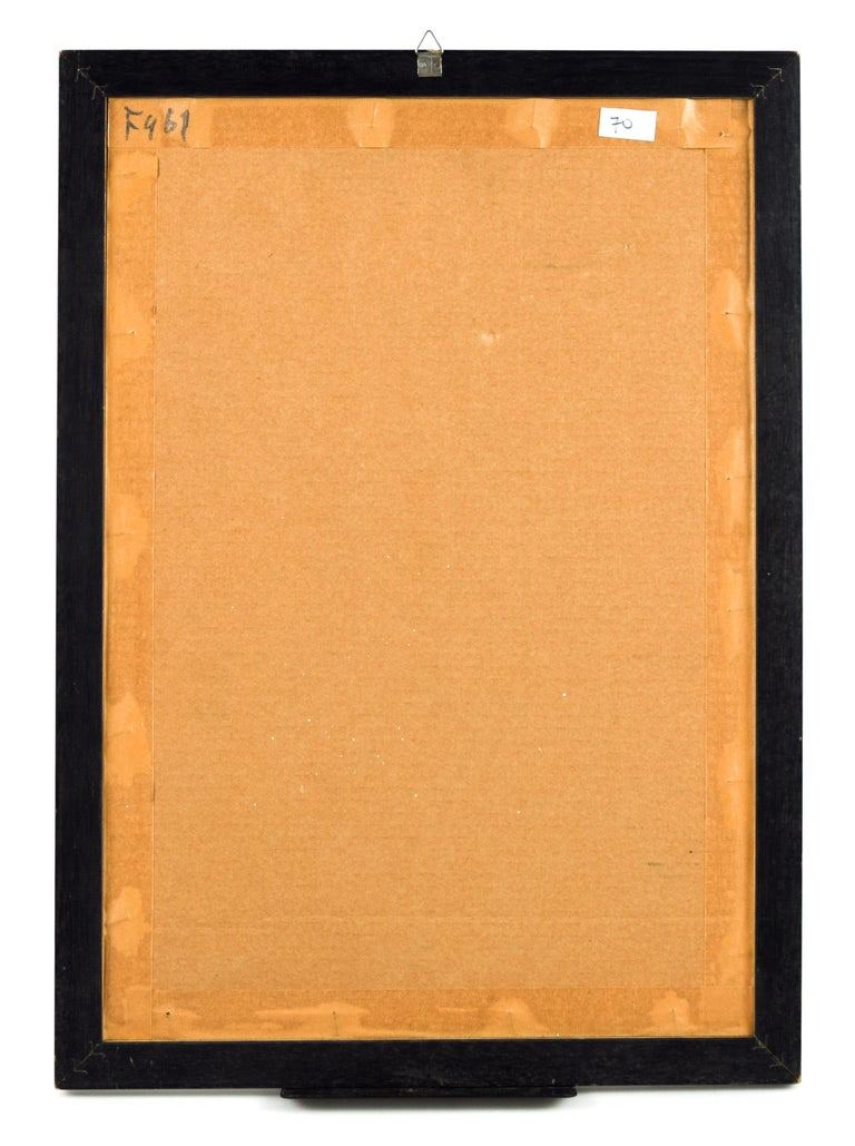 Laissez-Passer - Screen Print by Bettino Craxi - 1994 For Sale 2