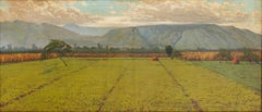 Highlands of Arcinazzo - Oil on Canvas by E. Tani - 1920s