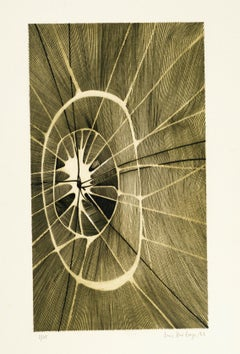 Sans Titre - Etching and Aquatint by Louis-René Berge - 1960s