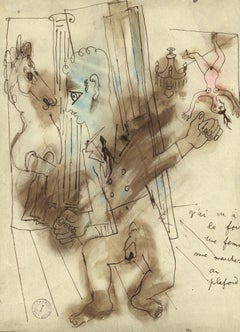 20th Century Nude Drawings and Watercolours