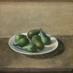 Still Life - Original Oil on Canvas by Virgilio Guidi - 1929