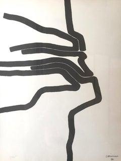 Affiche no.87 - 1964 - Eduardo Chillida - Lithograph - Contemporary