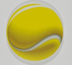 Tenns Ball - Original Oil on Canvas by Giuseppe Restano - 2010