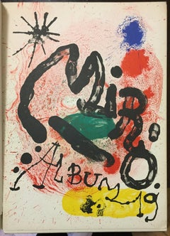 Mirò Album 19 - Original Vintage Catalogue of the Exhibition Sala Gaspar - 1963