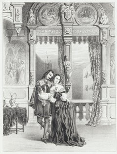 Stradella - Original Lithograph - 1838