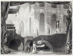 Guido et Ginevra - Original Lithograph - Mid 19th Century