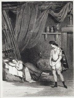 La Muette de Portici - Original Lithograph - 1870