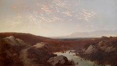 Landscape - Oil on Canvas by Giulio Aristide Sartorio - 1890 ca.