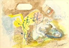 The Dream - Mixed Media by M. Maccari - 1960s