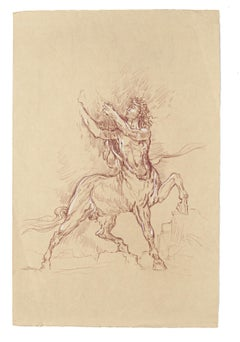 Symbolist Drawings and Watercolor Paintings